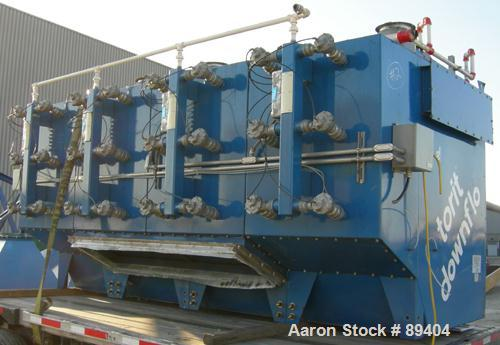 USED: Torit downflo cartridge type dust collector, model DFT3-48.  9,120 square feet filter area,      6,100-37,800 CFM rang...