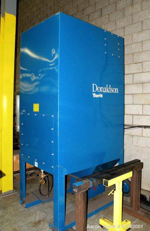 Used-Torit Downflo II Cartridge Type Pulse Jet Dust Collector, model DFT3-6, carbon steel. 1140 square feet filter area, nom...