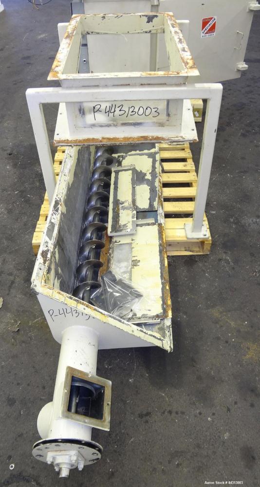 Used- Torit Dalmatic Insertable Bin Vent Dust Collector, Model DLMV 7-7, Carbon