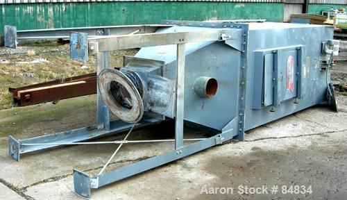 Used- Torit Mechanical Intermittent Cleaning Tube House Dust Collector, Model MIC-230-155, Carbon Steel. Approximate 230 squ...