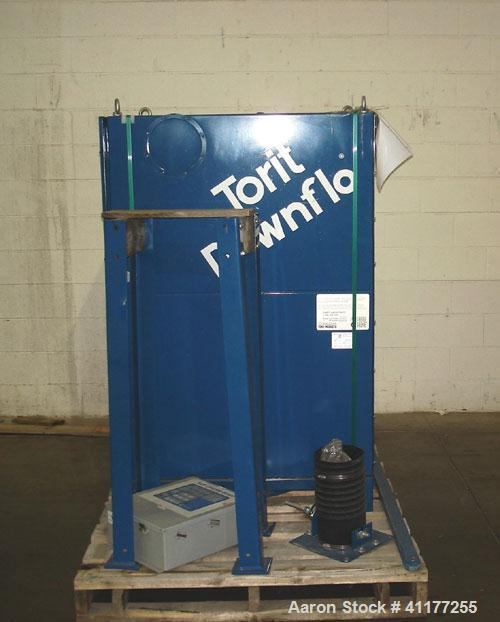 Used- Torit Downflo Pulse Jet Cartridge Type Dust Collector, Model 2DF2, Carbon Steel. Approximately 206 square feet filter ...