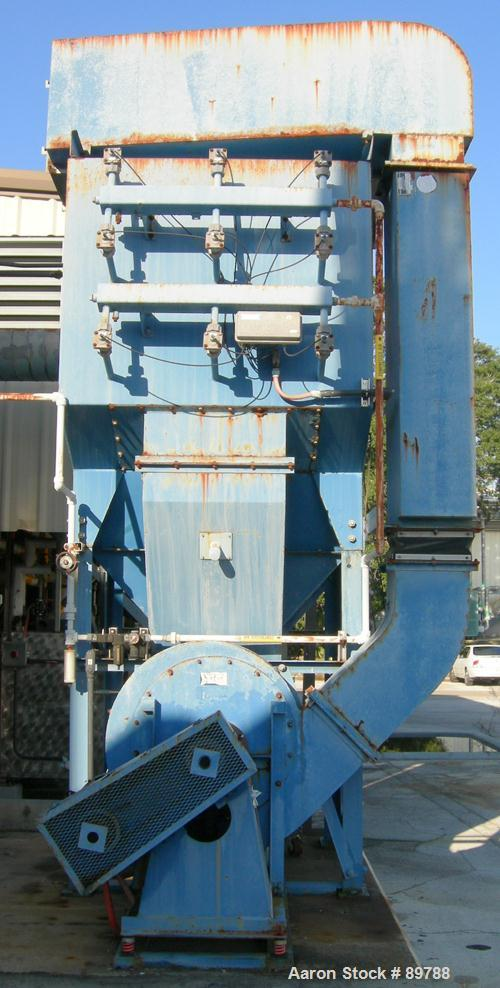 USED: Torit dust collector, model T3-18. 9 cartridge, reverse pulse jet. 20 hp blower, 3/60, 208-230/460V. Checkerboard cont...