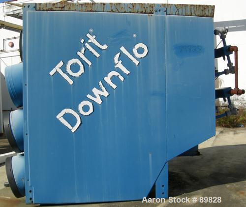 USED: Torit dust collector, model T3-18. 9 cartridge, reverse pulse jet. 3,420 square feet filter area, airflow cfm approxim...