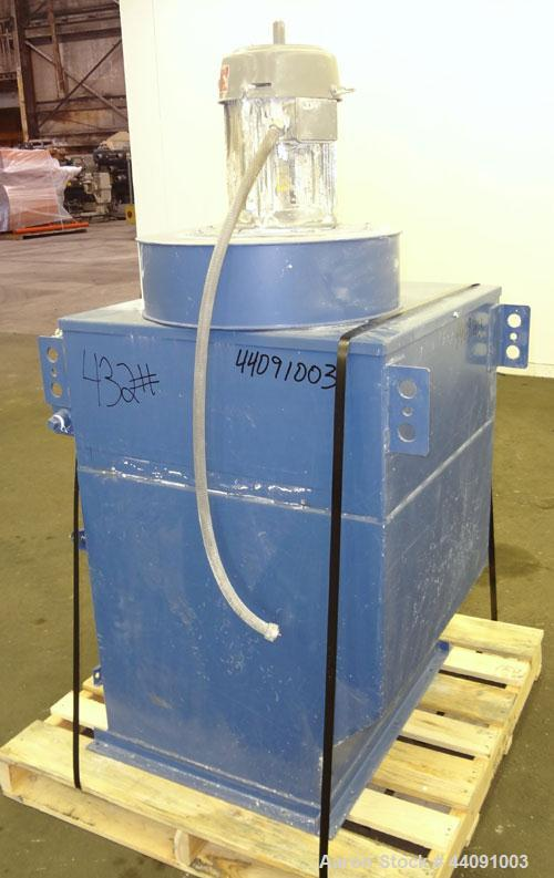 Used- Torit TD Cartridge Type Dust Collector, Model TD 486, 540 Square Feet Filter Area, Carbon Steel. Apprxoimately 700-150...
