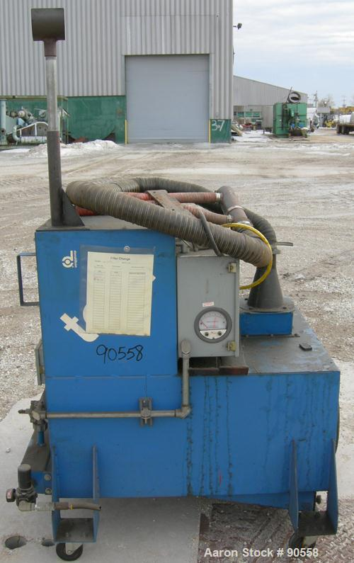 USED: Torit cartridge type pulse jet dust collector, model TD454, carbon steel. Approximatly 424 square feet filter area.(2)...