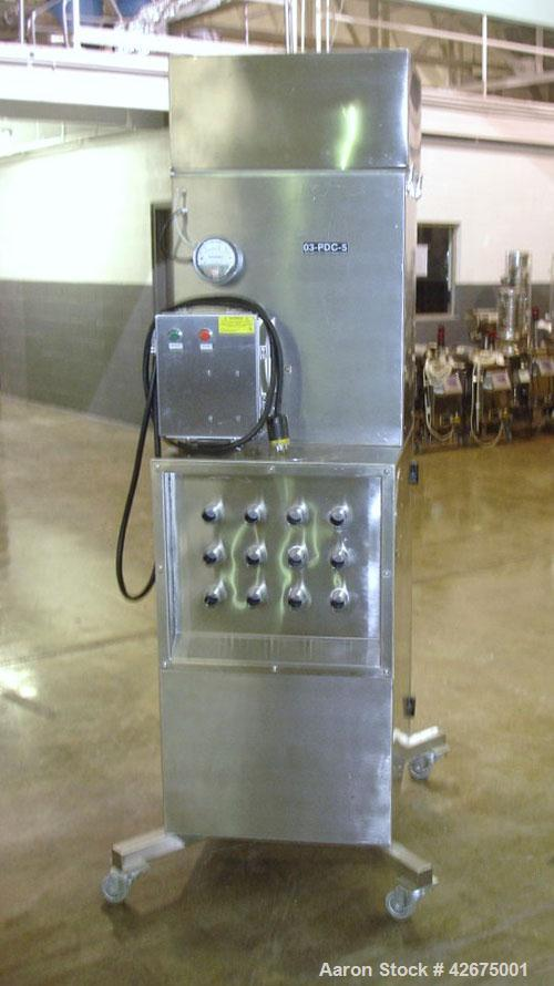 Used- Torit Dust Collector, Model VS-1500, stainless steel. 177 Square feet filter area,  1500 cfm.