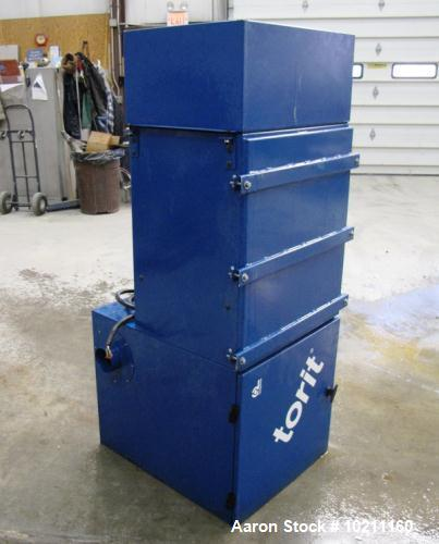 Used-Torit Vibra Shake Cartridge Dust Collector, Model VS-550, Carbon Steel.  Approximately 65 square feet filter area, 550 ...