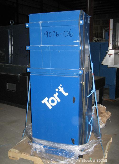 USED: Torit Vibra Shake cartridge type dust collector, model VS1500. 177 square feet filter area, carbon steel. Nominal air ...