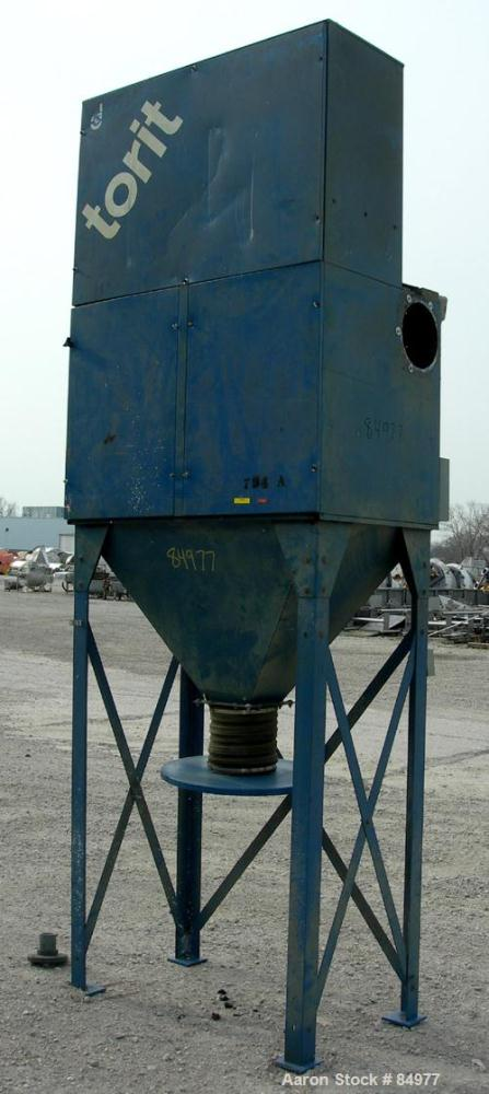 USED: Torit Vibra Shake self-cleaning cartridge type dust collector, model VS2400. 270 square feet filter area, carbon steel...