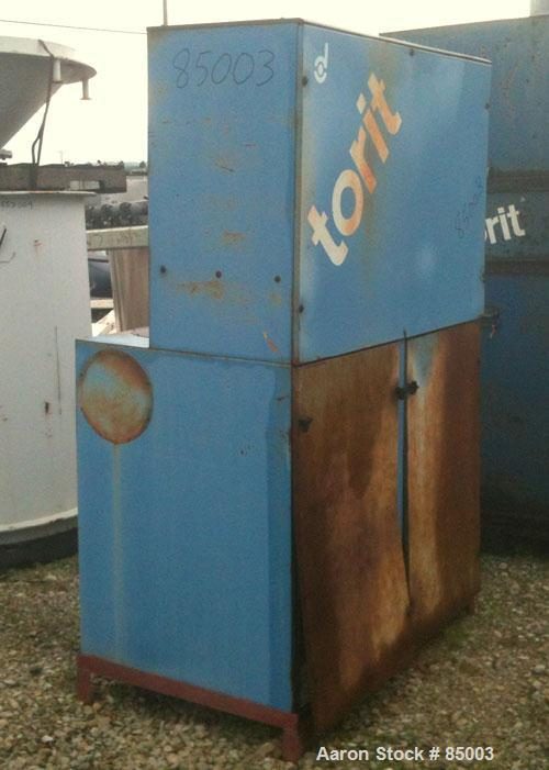 Used- Torit Vibra Shake Cartridge Type Dust Collector, Model VS3000, 354 Square Feet Filter Area, Carbon Steel. Nominal air ...