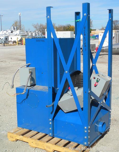 Used- Torit Vibra Shake Cartridge Type Dust Collector, Model VS550, Carbon Steel. 65 Square feet filter area, 550 cfm airflo...