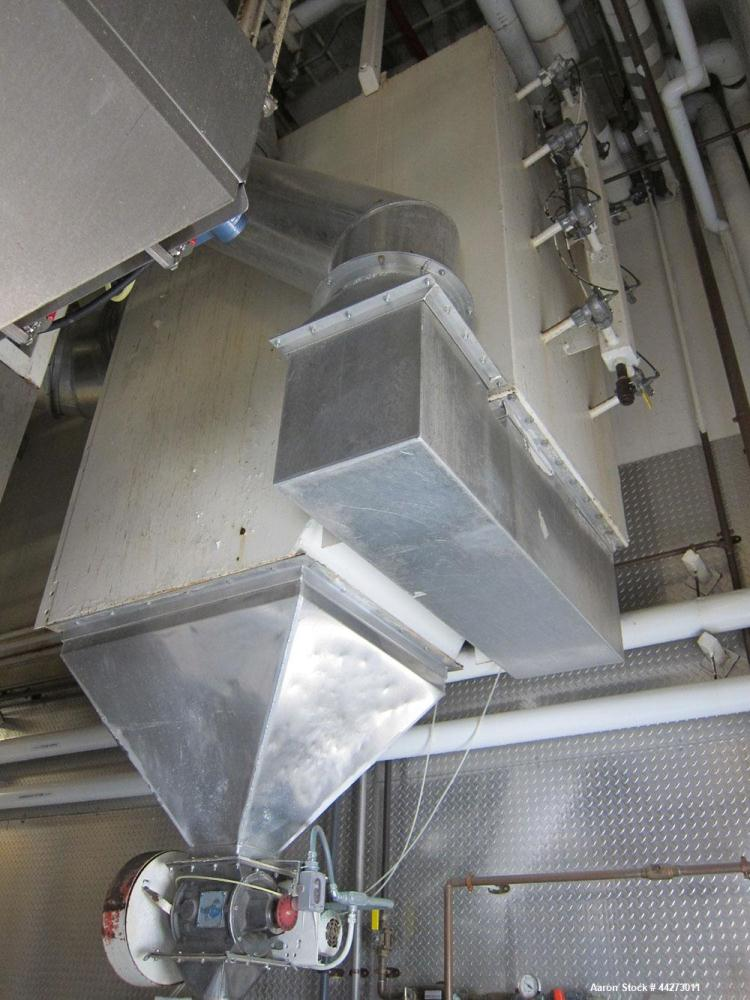 Used-Torit Cartridge type Carbon Steel Dust Collector with Rectangular Housing.