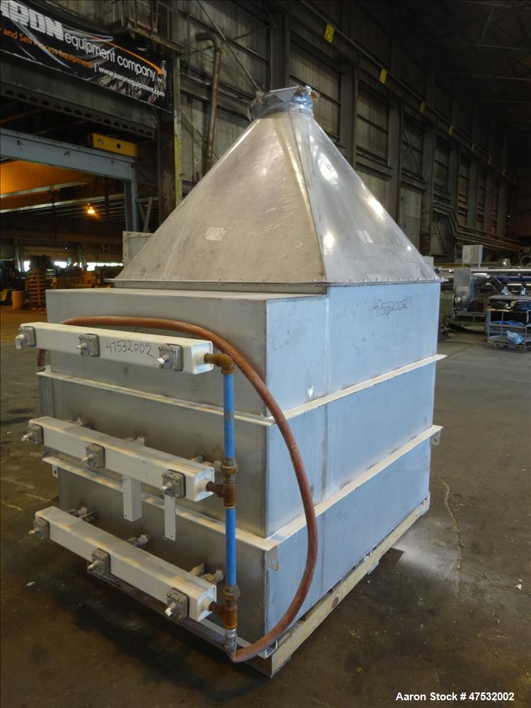 Used- Torit Cartridge Dust Collector, 304 Stainless Steel