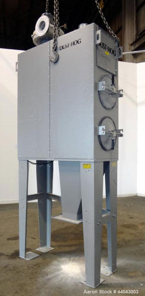 Used- United Air Specialists Dust Hog Cartridge Type Dust Collector, Model SBC2, Carbon Steel. 3/60/460. Approximate 620 squ...