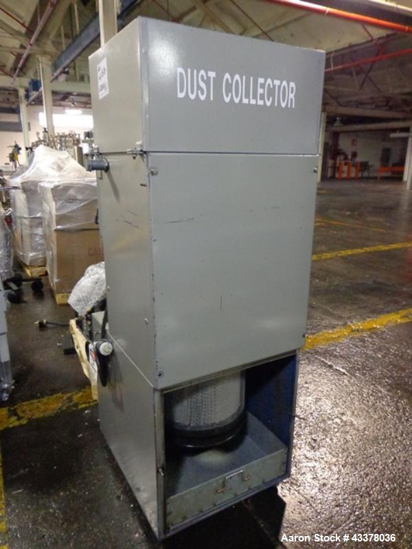 Used- Torit Dust Collector, Model VS550, 65 Square Feet Filter Area. Self cleaning design, 550 cfm nominal airflow, 208-230/...