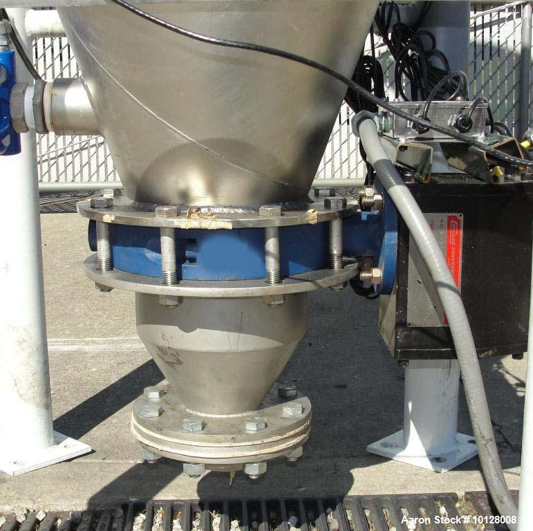Used- Walker Stainless Equipment Co Round Pulse Jet Dust Collector, Model R-HT-1