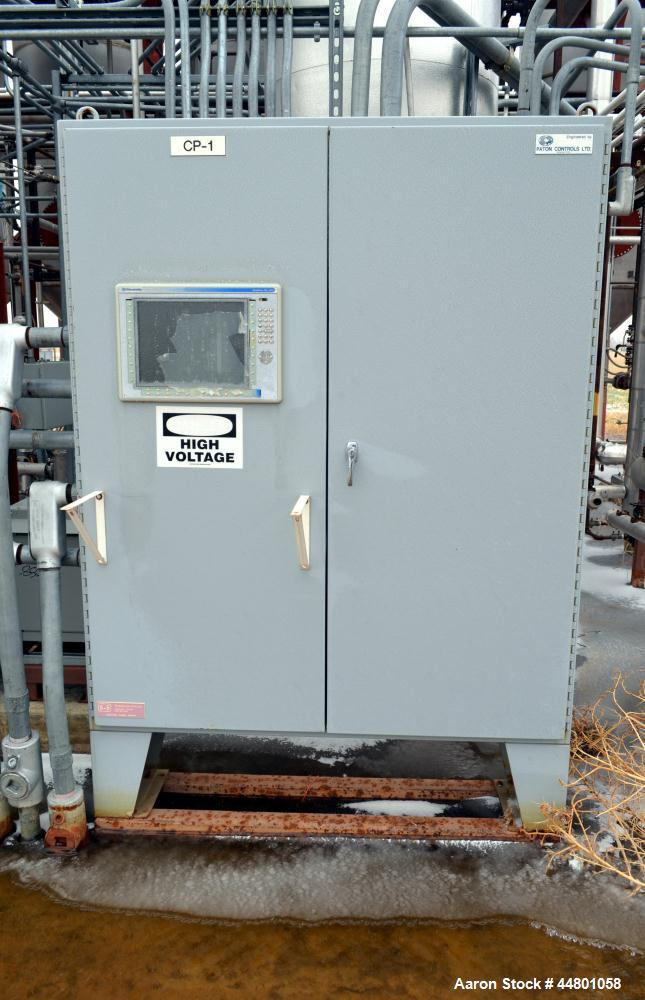 Used- Allen-Bradley PanelView Plus 1500 Control Panel.  Includes an operator panel, (3) starters, 15 kva, and a 75 kva trans...