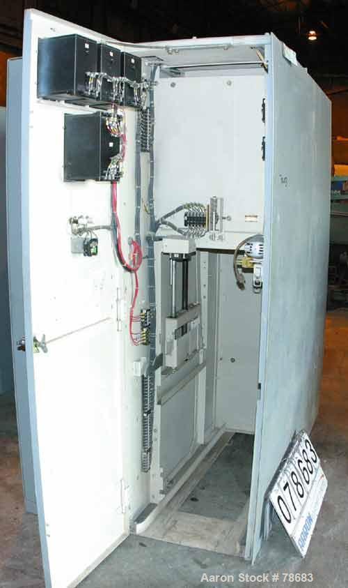 Used- General Electric Main Breaker, 600 Amp, 2.4 KW.