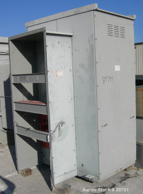 USED: HVL load current interruptor switch. Built 1995. 15 kv max voltage. 60 hz.