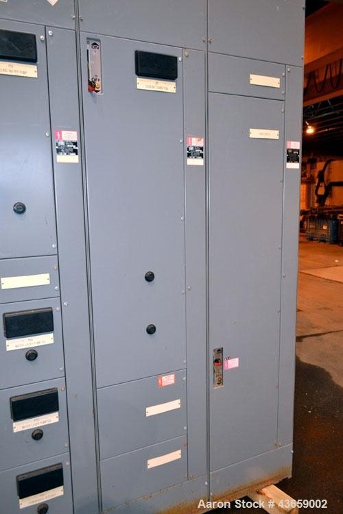 Used- Square D Motor Control Center, Model 5