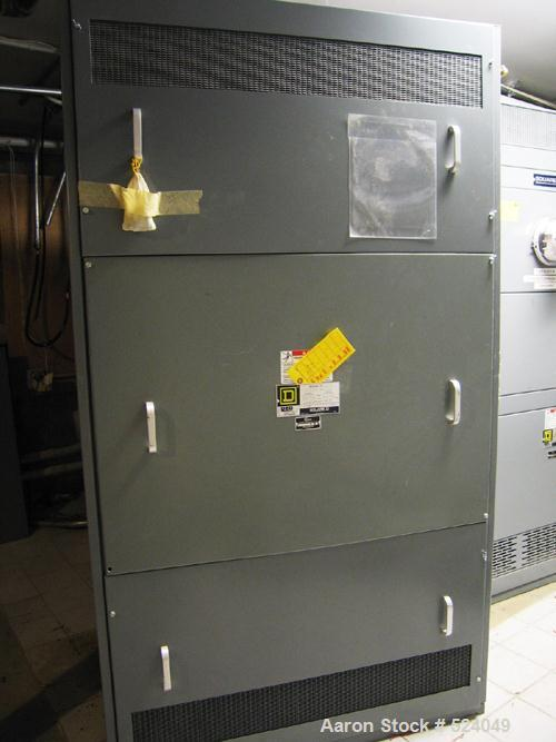 USED: Square D custom power style QED switchboard. 600A, 208Y/120 VAC,3 ph, 4W, 60 hz, suitable for use as service entrance ...