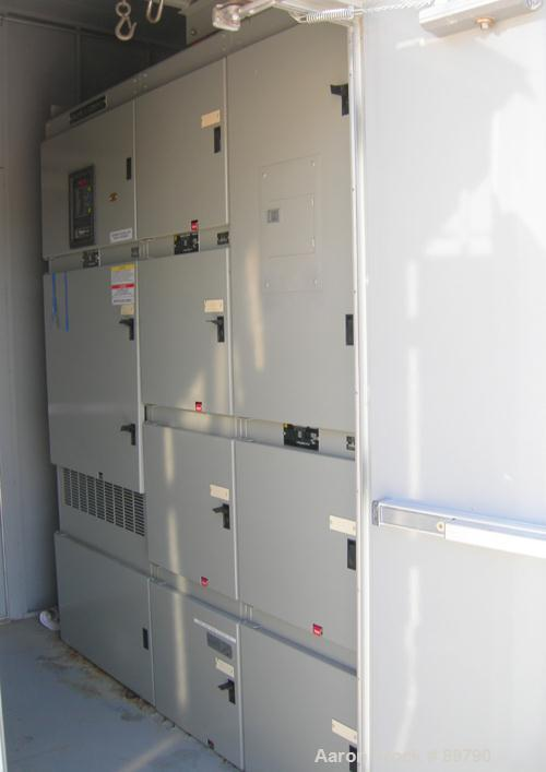 USED: Square D Power Zone center. Power Zone III switchgear, 4000 amp rating.