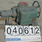 USED: Limitorque drive gear unit.