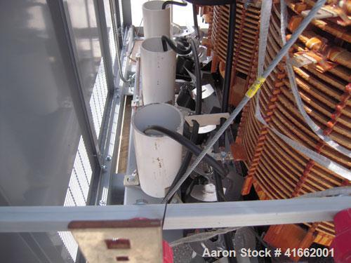 Unused- Cutler Hammer/ABB Transformer. Built 2008. 1500/2000 kva dry type. HV 13,800 Delta Primary to 480Y/277 Secondary. kV...