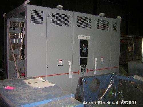 Unused- Cutler Hammer/ABB Transformer. Built 2008. 1500/2000 kva dry type. HV 13,800 Delta Primary to 480Y/277 Secondary. kV...