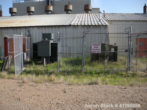 Used-Ferranti Packard Transformer, oil filled, 2000 KVA, 6900/4160, 2400 VAC, 3/60.  Less than 5 PPM PCB as of 11-09-1984