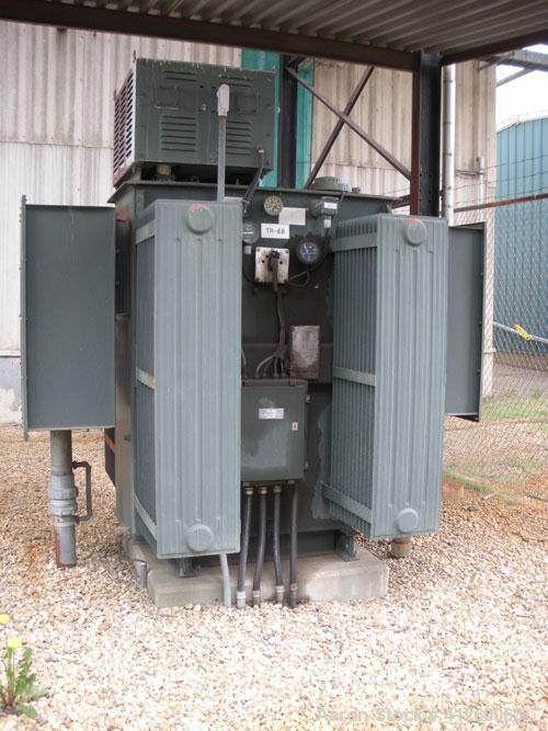 Used-Ferranti-Packard Transformer, 2000 KVA,  13.8 KV/4160V.