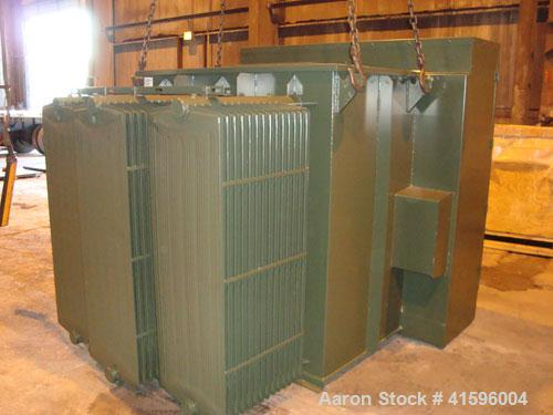 Used-Cooper Power 2500 kva Padmount Transformer. 3 phase, 12470GY/7200-480Y/277.