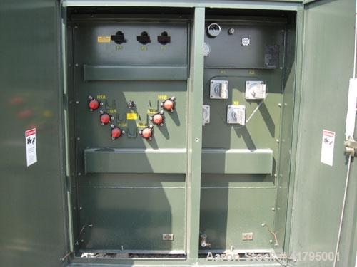 Unused-New GE 2500 kva three phase Padmount transformer. HV: 12470Y/7200. LV: 480Y277. 65 deg C rise, OA, 60 hertz 2-2.5% FC...