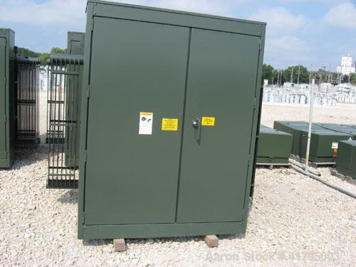 New-GE 2500 kVA Three Phase Padmount Transformer. HV:12470Y/7200LV:480Y/277. 65 degree C rise, OA, 60 Hertz. 2-2.5% FCAN & B...