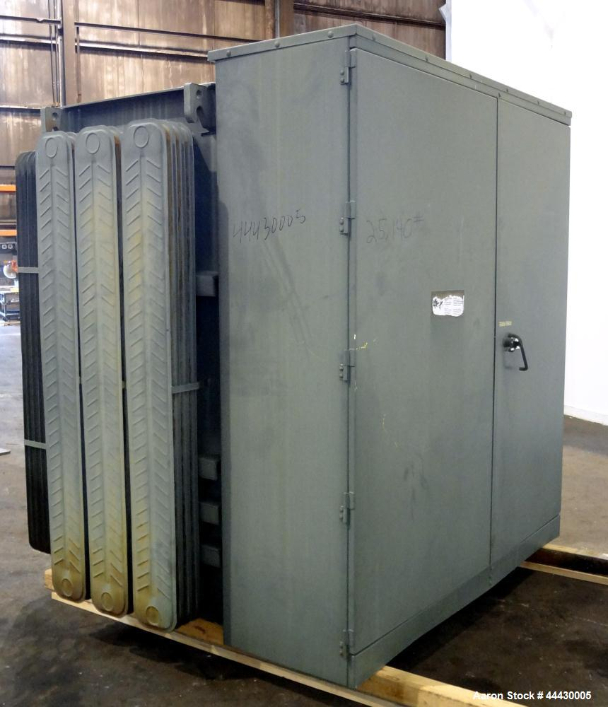 Used- GE Padmount 5000 kVA 12470 / 4150Y / 2400 Oil Filled Transformer.  Year 2003.