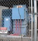 Used- Asea Brown Boveri Transformer, oil filled 10/13.33 MVA at 55 deg C rise, 3 phase, 60 hertz.