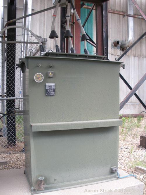 Used-Westinghouse Transformer, neutral grounding, 333 continuous KVA, type Onan, 65 deg C rise, 3/60.
