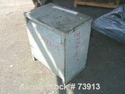 USED: 34 kva GS SCR drive transformer, cat DT651H34, ser D.