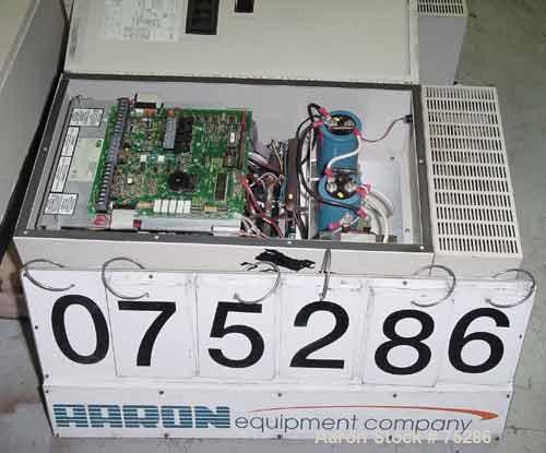 USED: ABB Para Just AC drive panel, model G032. Input 208-460 vac, 3/50/60, 27.5 amp. Output 0-460 vac, 3 ph, 0-180 hz, 32 c...