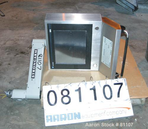 USED: Allen Bradley industrial flat panel monitor, model FD20/A,cat #6185-EACABBZ, built 2000.