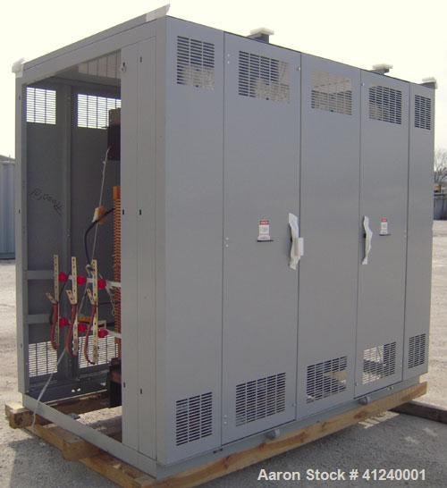 Unused- Cutler Hammer/ABB Transformer. Built 2008. 1500/2000 KVA Dry Type. 13,800 Delta Primary to 480Y/277 Secondary. Coppe...