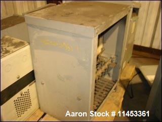 Used- Hevi-Duty 133 KVA Transformer, 460 volt primary, 230 volt secondary.