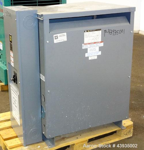 Used- Square D Company Insulated Transformer