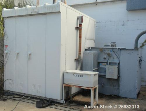 Used- Square D Transformer, kva rating 1000/1150 continuous. Class OA/FA. 3 Phase, 60 Hertz. HV 12,470 DELTA, LV 480Y/277.