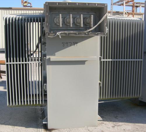USED: Square D transformer. 3000 kva, class OA/FFA, 3/60. Built 1995. HV volts 12,470 delta, LV volts 480Y/277.