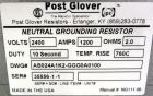 Post Glover Neutral Grounding Resistor