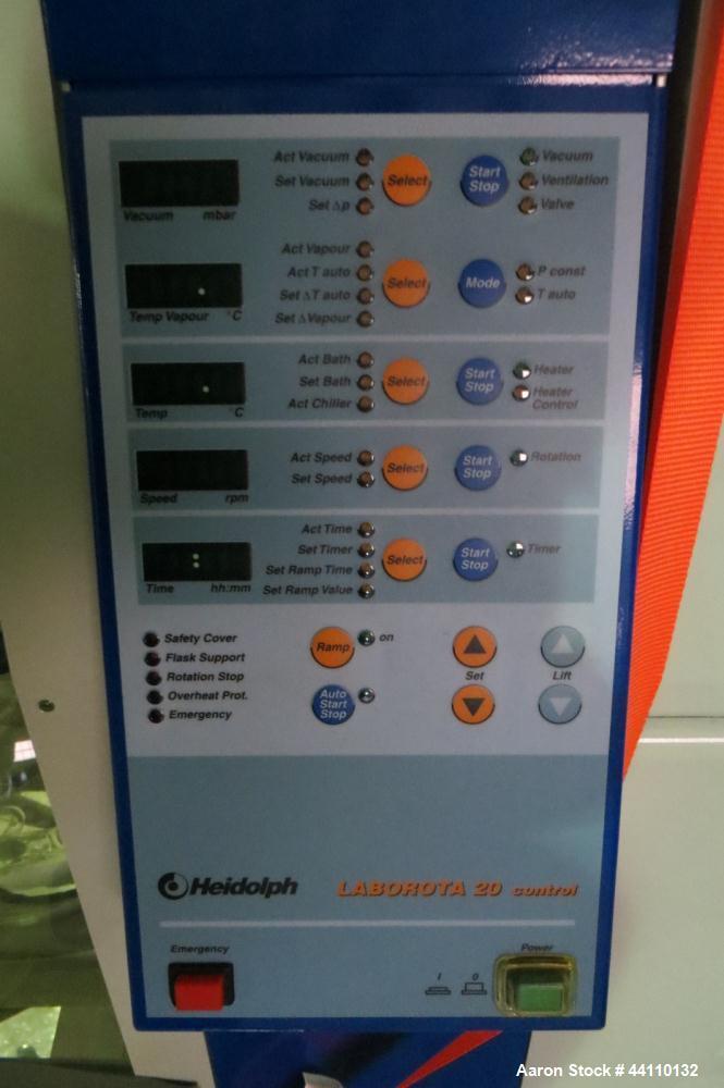 Used- Heidolph Laborota 20 rotary evaporator