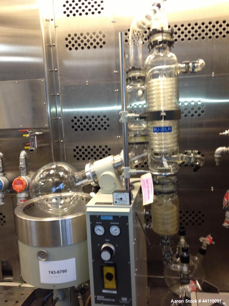 Used- Buchi Rotavapor 176 with with Huber Unistat Chiller T326
