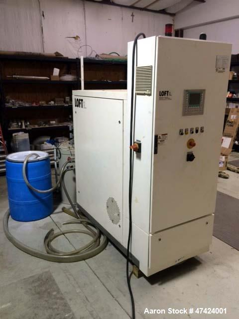Used- KMU Loft MVR Evaporator, Model LE-50. Evaporation capacity is rated at 50 liters/hr. or 1,200 liters for a 24 hr. peri...
