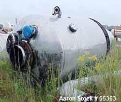 Used-  Stainless Steel Roben Snail Shell Separator Evaporator